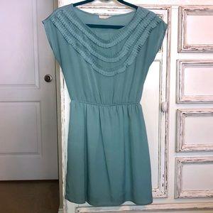 Lush teal dress
